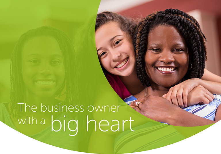 The business owner with a big heart