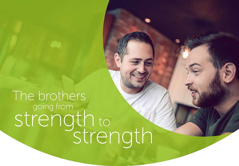The brothers to going from strength to strength